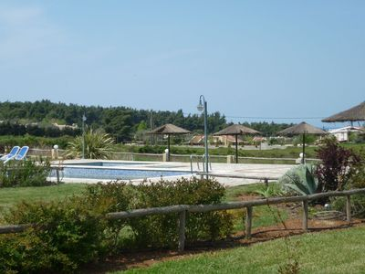 Photo for Detached house incide a complex with nice sea and mountain view next to a nice beach and next to a pine forest