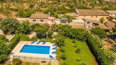 "Photo for Finca ""Es Rafal"" in Arta. Private pool with a wonderful sun terrace. WiFi & BBQ"