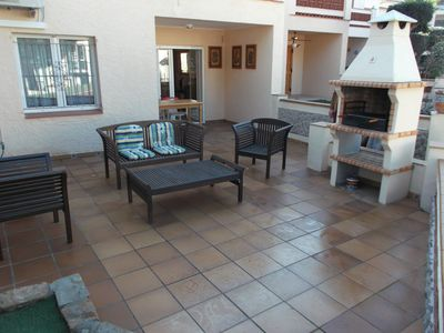 Photo for 3 bedroomed house with community pool and tennis, sleeps