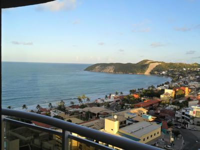 Photo for Apartment overlooking the sea and Morro do Careca