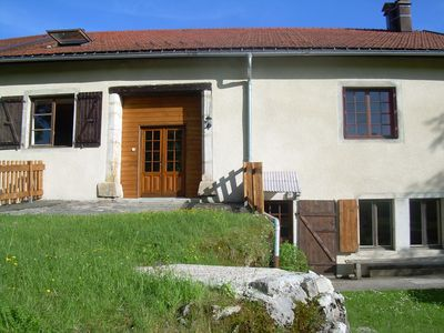 Photo for SPACIOUS GITE MOUNTAIN HIGH JURA 130 m2 AVAILABLE AUGUST S34 AND S35