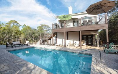 Photo for Seagrove home close to the beach, Private Pool (can be heated), 4 bikes