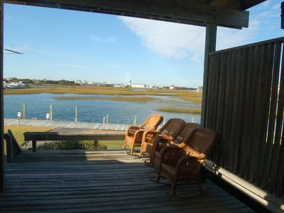 Photo for Beautiful, Comfortable Condo With Dock Space ... quick access to Bogue Sound