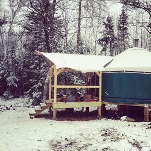 Photo for Get Back To Nature In This off the grid Yurt