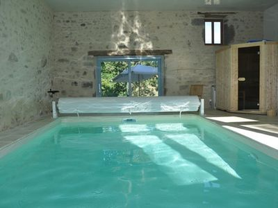 Photo for Premium cottage with indoor pool and sauna