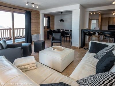 Photo for Apartment Les Arcs 1800, 5 bedrooms, 12 persons