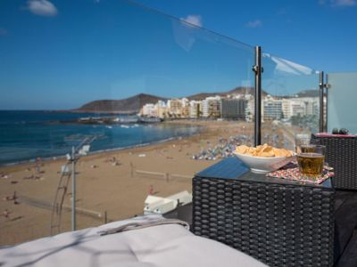 Photo for Apartment SEAFRONT APARTMENT SAGASTA in Las Palmas - 3 persons, 2 bedrooms