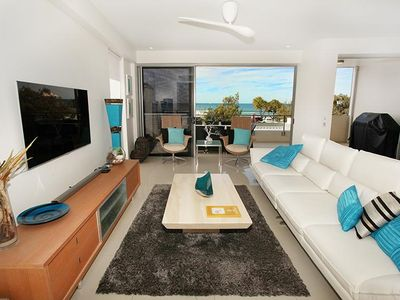 Photo for Ocean front 3 bedroom apartment, Maroochydore beach