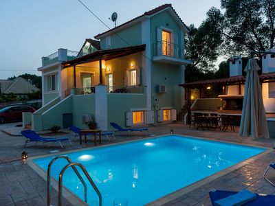 Photo for Bee's Knees Retreat. A five bedroom villa located  in Pesada, Kefalonia.