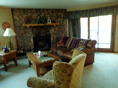 Photo for Center Of Town Directly Across From Riverwalk Center In Breckenridge.  Sleeps 6.