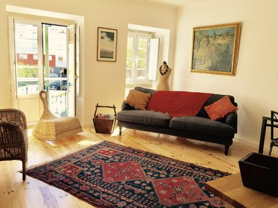 Photo for Gorgeous Graça apartment, 2 bed 2 bathrooms, in traditional building