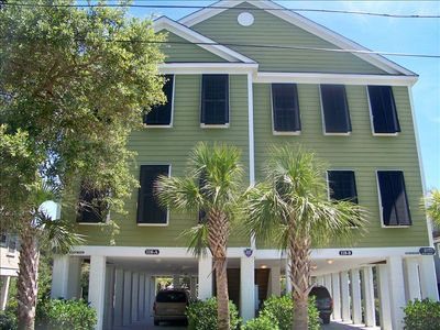 Spacious 5 Bedroom Home with Pool Just Steps to the Beach; floors updated