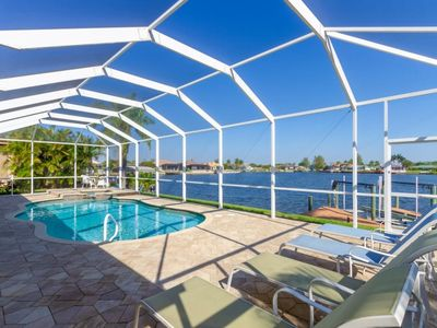 Photo for SW Cape Coral | Gulf Access | Central location, separate office and beautiful views