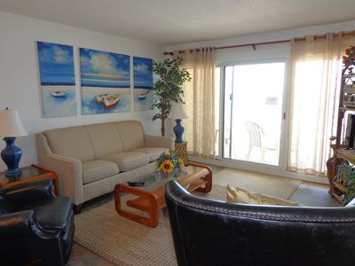 Photo for Beach Front!  New Carpet, Tile, Furniture and much more! 2017/2018