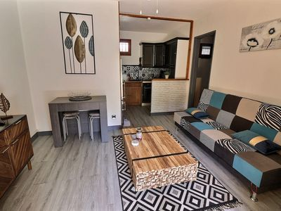 Photo for LA LONDE LES MAURES - F2 furnished with garden by the week or by the month