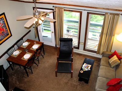 Photo for Best View at Snowshoe - Large Loft Condo, 2 Baths, Sleeps 6, Steps to the Slopes