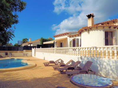 Photo for Casa Rose, family holiday villa, walking distance to shops and beach