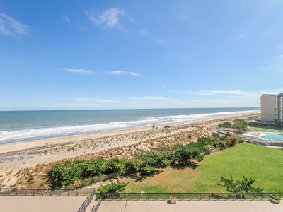 Photo for D604: 2BR Sea Colony Oceanfront Condo! Private Beach, Pools, Tennis ...