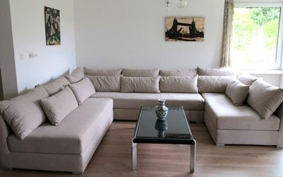 Photo for Spacious, quiet living in the center of St. Moritz-Bad