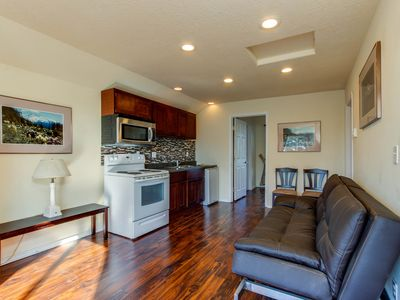 Photo for Private, dog-friendly hillside rental in the heart of Lincoln City