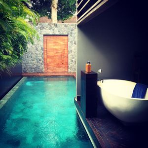 Photo for Tropical Design Villa with Pool Walkout in Seminyak with staff
