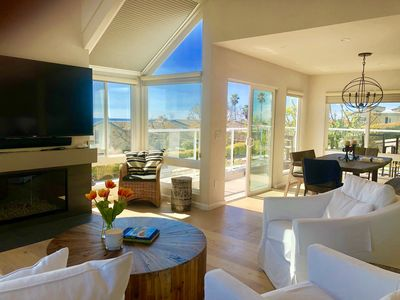 Photo for Solana Beach Luxury Condo -  Treehouse Views of Racetrack and OCEAN