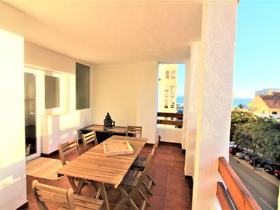 Photo for Superb 3 bedroom apartment just steps from the port of Estepona