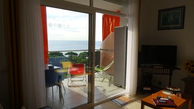 Photo for 90 m2 6th Floor Facing The Sea With Direct Access, Pets Welcome