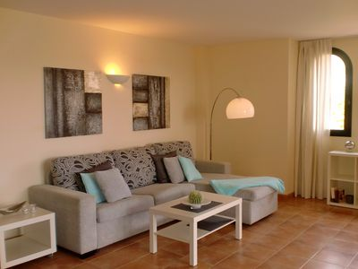 Photo for 2C Great apartment with large balcony, pool, beach and sea close, Wi-Fi included.