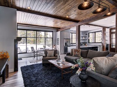 Photo for New Listing! Luxurious Modern Cabin in the Woods-Serene yet Close to Everything
