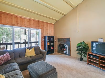 Photo for Dog-friendly, waterfront condo with mountain views - close to skiing