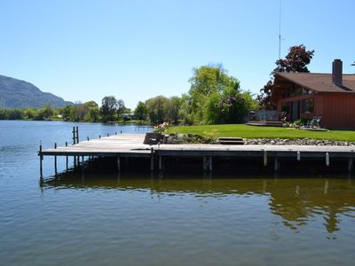 Photo for Beautiful Lakefront Home close to dining & town.