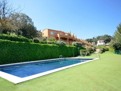 Photo for Terraced house near the centre of Begur and 2kmfrom the beach. Nice sea  views.There a