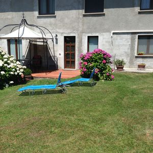 Photo for Modern apartment for 3 + 1 people. 50m from the beaches Baia Piona (Lake Como)