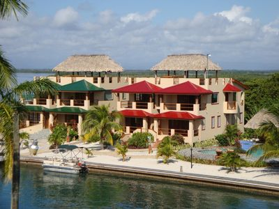 Photo for Belize on your Brain Stunning Townhouse with Rooftop Palpa on it on Island!!!!