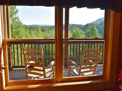 Photo for *GREAT RATES FOR AUGUST/SEPT! LISTEN TO DOLLY'S TRAIN FROM DECKS! GREAT VIEWS!*