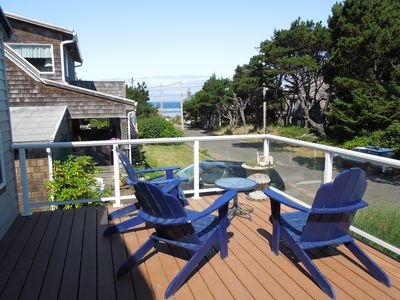 Photo for Family Friendly Ocean View Home - Half Block To The Beach (Pets Considered)