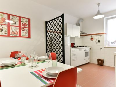 Photo for Red & White Vatican Apartment