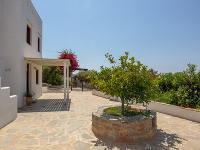 Photo for luxurious villa, beautifull sunsets, children and pets friendly!