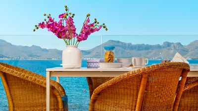 Photo for Apartment for 6 people facing the sea in Alcudia, Terrace, WIFI