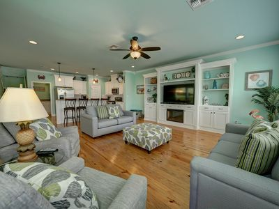 Photo for Seas The Day- Fenced Yard, Community POOL, Boat Parking! Nature Preserve