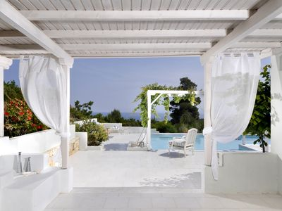 Photo for Stylish and Luxurious Anemolia Villa with private pool and stunning sea view!