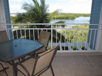 Enjoy a beverage while sitting on your porch overlooking the Nature Reserve.
