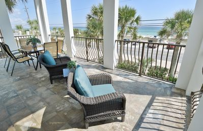 Photo for Beach Front House in PCB. 3B 3B in-ground pool and beautiful views sleeps 10