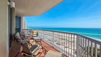 Photo for Glorious Gulf Views, Emerald Dolphin unit 1220. 2br/2ba Condo. Free WiFi