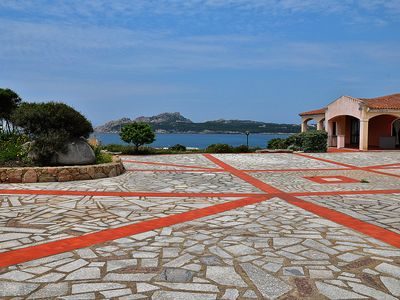 Photo for Fantastic holiday resort with sea view - Le Dimore di Baia Santa Reparata