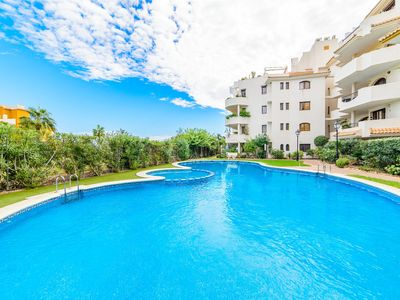 Photo for One bedroom Apartment, sleeps 2 in Punta Prima with Pool, Air Con and WiFi