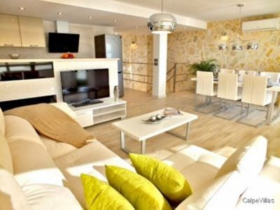 Photo for Luxury boutique style, modern Calpe port apartment with great spec inc Wifi