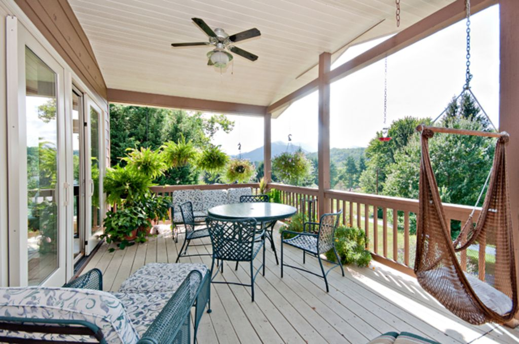 House with mountains and lake views from decks and sunroom - House with a view ...