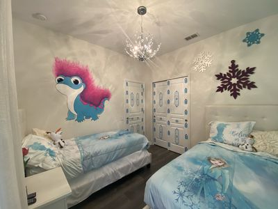 Photo for FROZEN, HARRY POTTER, MICKEY THEMED ROOMS 5 MINUTES FROM DISNEY